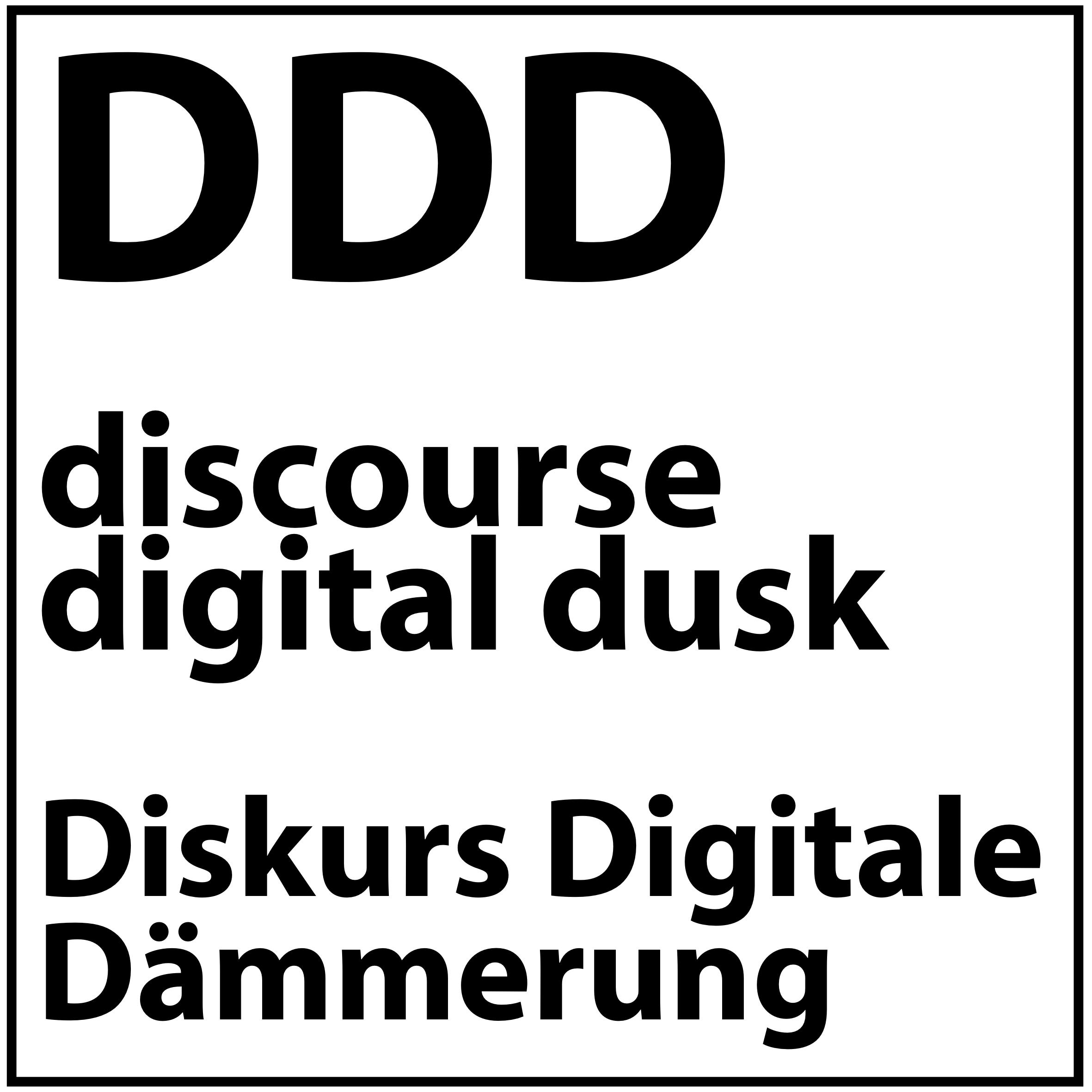 DDD Podcast – Digitale Dämmerung