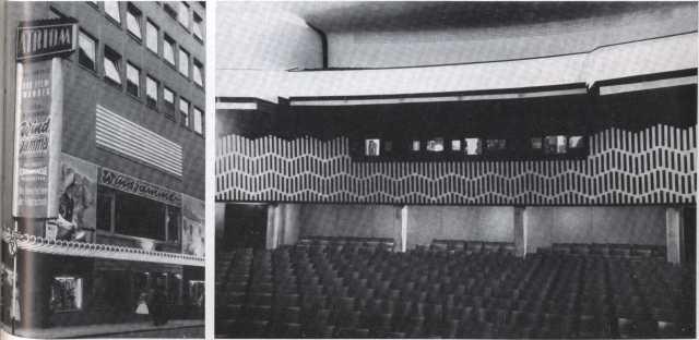 Atrium Stuttgart 1959, Rückwand, Straßenfassade Windjammer.komp